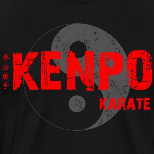 kenpo Yin Yang red - Men's Premium T-Shirt