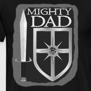 Mighty Dad - Men's Premium T-Shirt