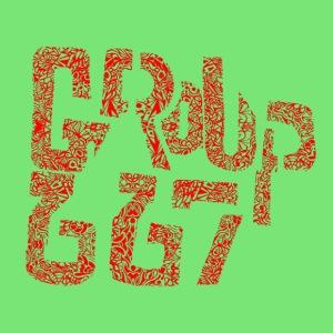 Group667 RED Scribble - Men's Premium T-Shirt