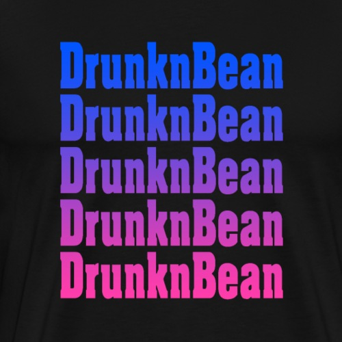 DrunknBean Cool logo - Men's Premium T-Shirt