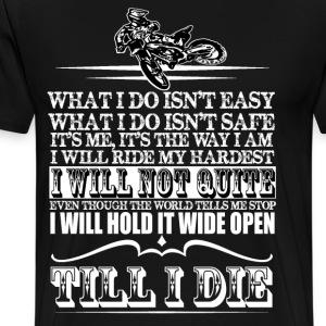 DIRT BIKE TSHIRT 2 - Men's Premium T-Shirt