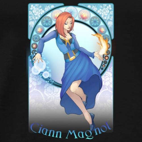Ciann Magnol Art Nouveau - Men's Premium T-Shirt