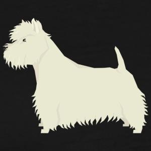West Highland White Terrier - Men's Premium T-Shirt
