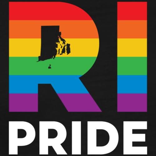 Rhode Island Pride (vertical) - Men's Premium T-Shirt