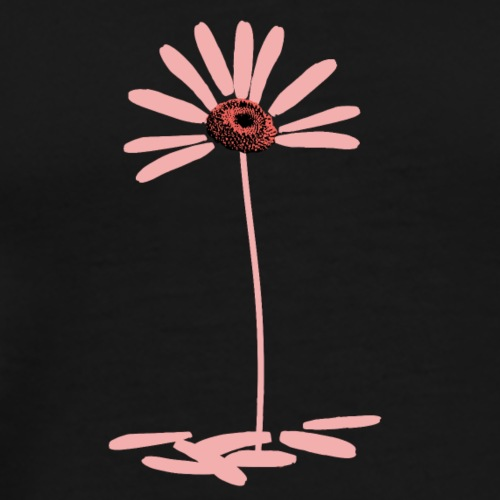 Daisy Pink - no text - Men's Premium T-Shirt