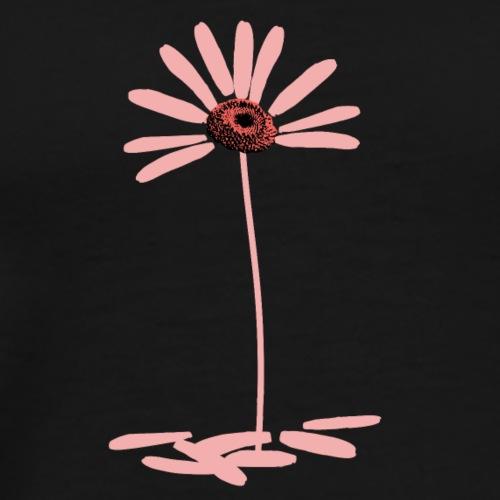 Daisy Pink - no text - Men's Premium T-Shirt