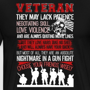 Veteran Tshirt - Men's Premium T-Shirt