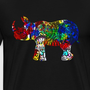 Rhinoceros Shirt - Men's Premium T-Shirt