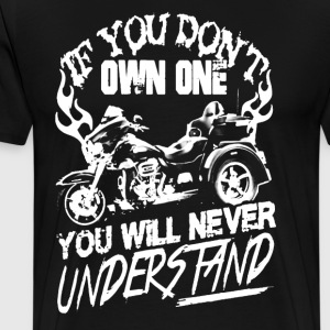 You will never understand T shirts - Men's Premium T-Shirt