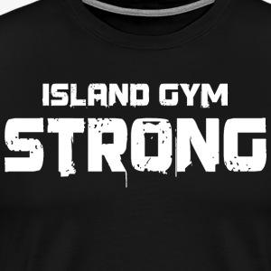 Island Gym Strong color IG - Men's Premium T-Shirt