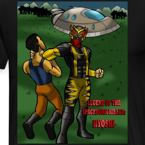 Kyoshi : Legend Of The Spaceborn Killer T-Shirt - Men's Premium T-Shirt