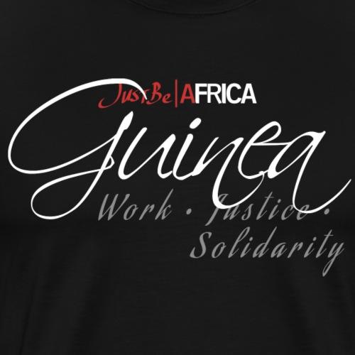 Guinea Sleek - Dark - Men's Premium T-Shirt
