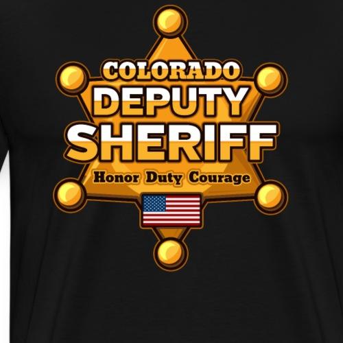 Colorado Deputy Sheriff - Men's Premium T-Shirt