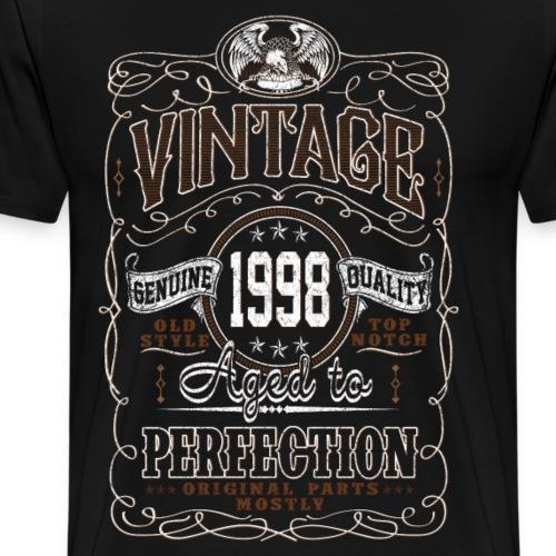 Vintage 1998 Aged To Perfection - Men's Premium T-Shirt