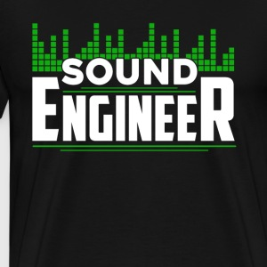 Sound Engineer Shirts - Men's Premium T-Shirt