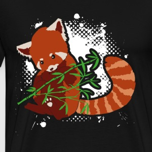 RED PANDA BABY BLANKET SHIRT - Men's Premium T-Shirt