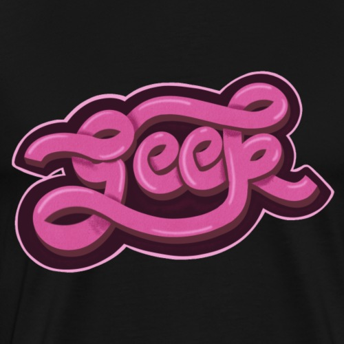 GEEK (Pink) - Men's Premium T-Shirt