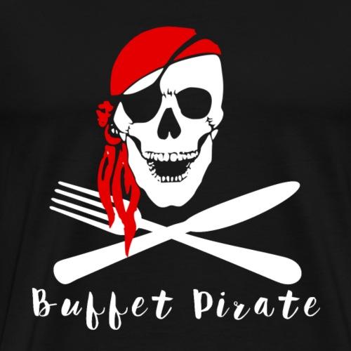 Cruise Ship Buffet Pirate - Men's Premium T-Shirt