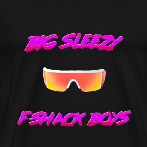 F-Shack Boys w/ 4D glasses Apparel - Men's Premium T-Shirt