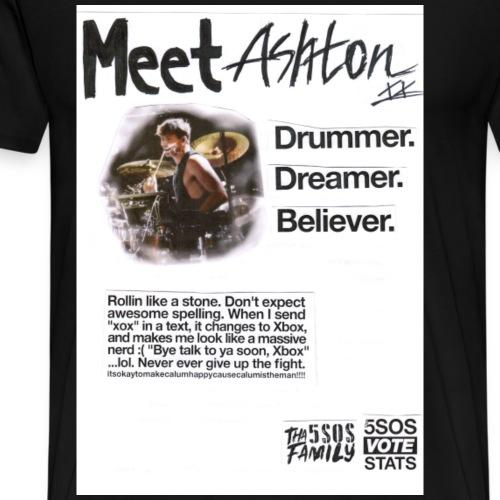 She Looks So Perfect - Meet Ashton COLORBLOCK - Men's Premium T-Shirt