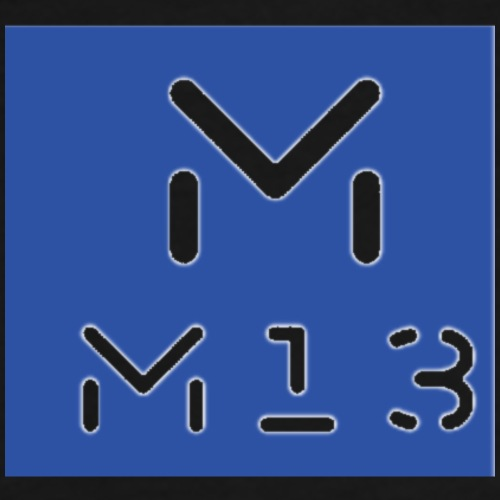 M13 Logo - Men's Premium T-Shirt