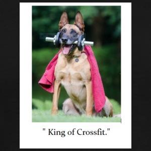 King of Crossfit - Men's Premium T-Shirt