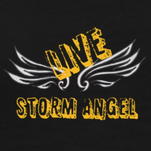 Live Storm Angel Yellow Edition - Men's Premium T-Shirt