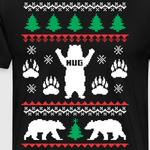 Bear Hug Festive - Men's Premium T-Shirt