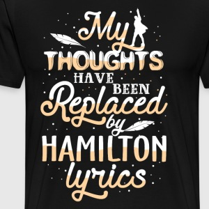 My Thoughts Have Been Replaced - Men's Premium T-Shirt