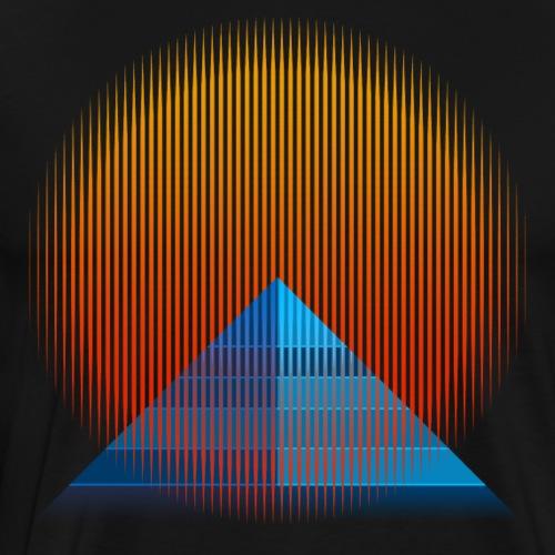 Pyramid Sun - Men's Premium T-Shirt