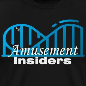 Amusement Insiders Big Logo - Men's Premium T-Shirt