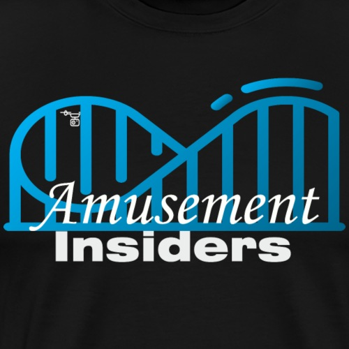 Amusement Insiders Big Logo - Men's Premium T-Shirt