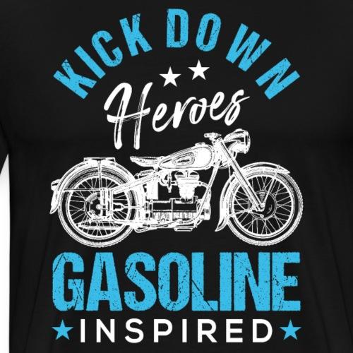 Kick Down Heroes Gasoline Inspired - Men's Premium T-Shirt