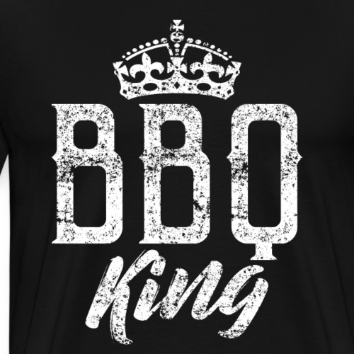 BBQ Barbecue King - Men's Premium T-Shirt