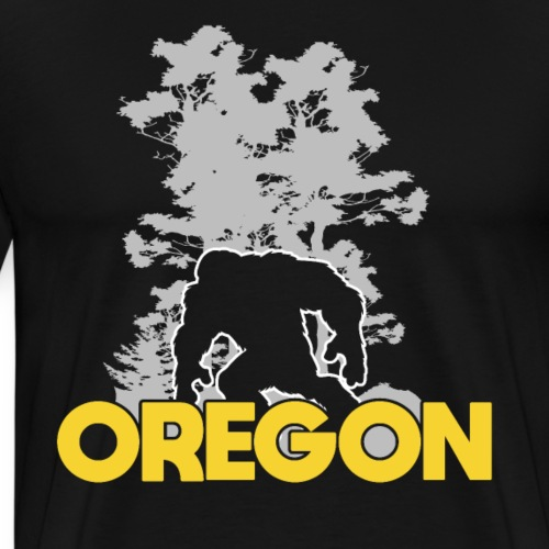 Bigfoot Oregon Sasquatch - Men's Premium T-Shirt