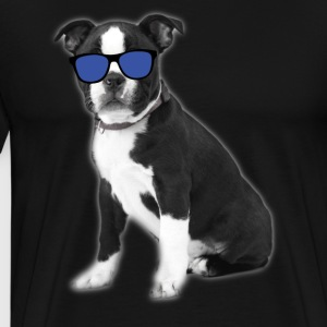Cool Boston Terrier Dog Tee Shirt - Men's Premium T-Shirt
