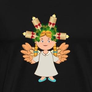 Angel Candle - Men's Premium T-Shirt