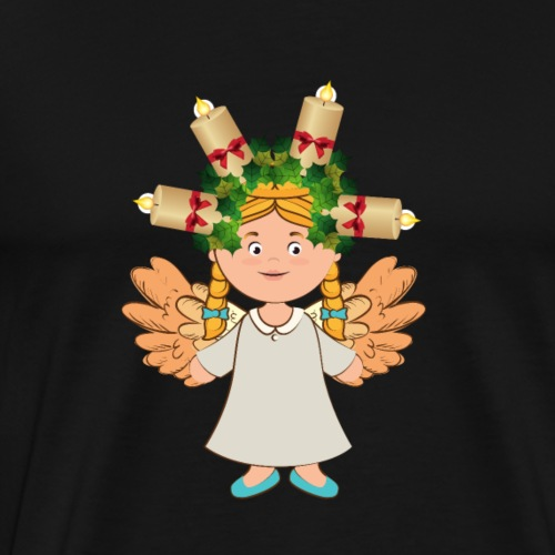 Angel Candle - Men's Premium T-Shirt