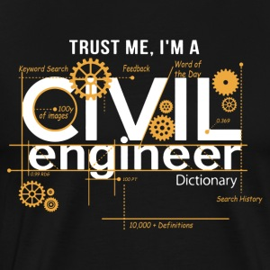 Civil Engineer Shirt - Men's Premium T-Shirt