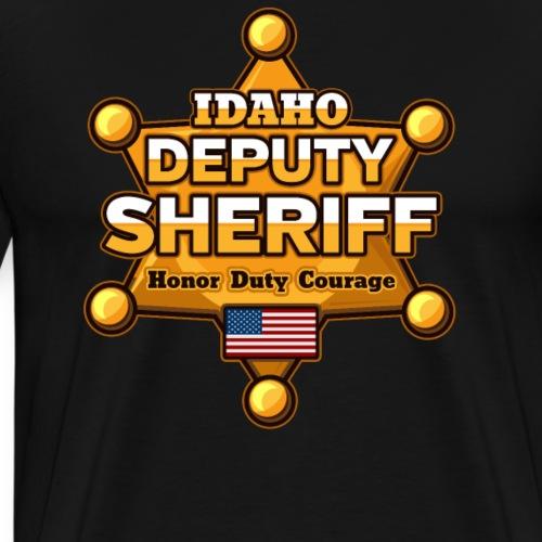 Idaho Deputy Sheriff - Men's Premium T-Shirt