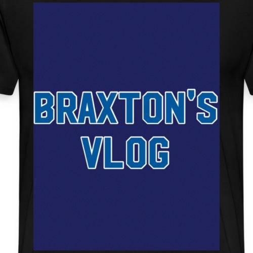 OFFICIAL BRAXTON'S VLOG MERCH - Men's Premium T-Shirt