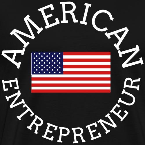 American Entrepreneur - Men's Premium T-Shirt