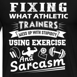 Athletic Trainer Tshirt - Men's Premium T-Shirt