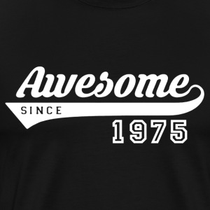 Awesome Since 1975 Shirt - Men's Premium T-Shirt