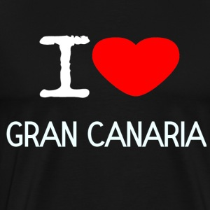 I LOVE GRAN CANARIA - Men's Premium T-Shirt