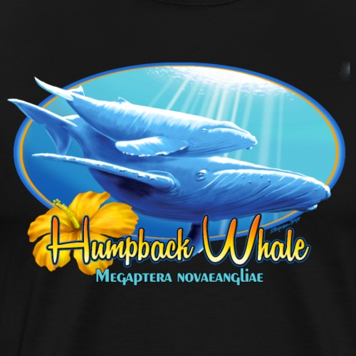 humpback whale - Men's Premium T-Shirt