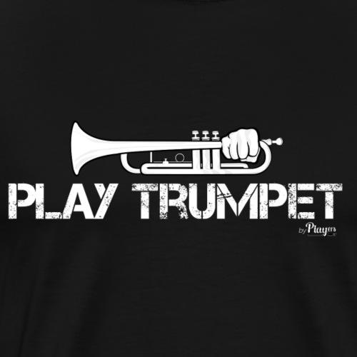 Play Trumpet - Men's Premium T-Shirt
