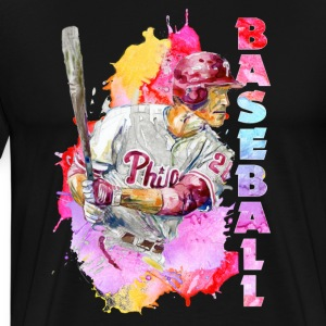 baseball player tee shirt - Men's Premium T-Shirt