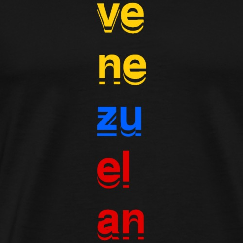 VE NE ZU EL AN - Men's Premium T-Shirt
