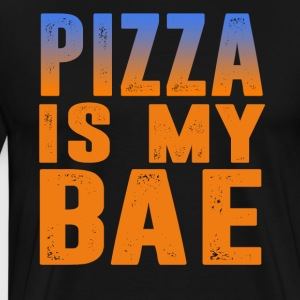 pizza is my bae - Men's Premium T-Shirt